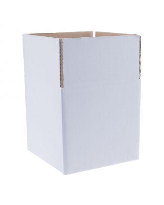 witte kartonnen dozen