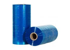 rekfolie machinerollen blauw