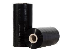 rekfolie machinerollen machine wikkelfolie 23 micron zwart