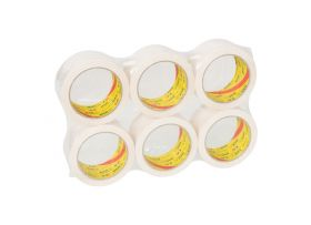 PP Solvent Tape (NAR), Wit, 50 mm x 66 meter