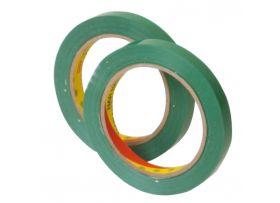 PVC Tape, groen, 15 mm x 66 meter
