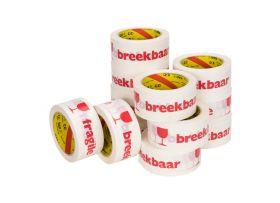 breekbaar fragile tape