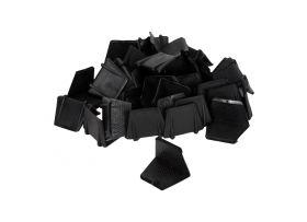 Kunststof Hoekbeschermers, zonder doorn, 25 x 25 mm