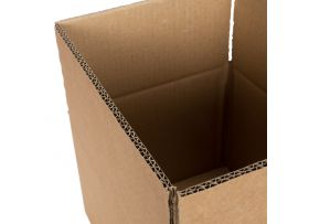 Kartonnen Dozen, Dubbelgolf, 420 x 350 x 170 mm