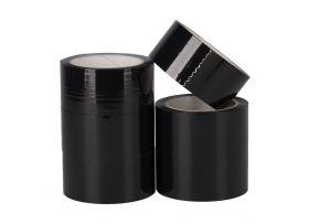 PP Acryl Tape Low Noise, Zwart, 50 mm x 66 meter
